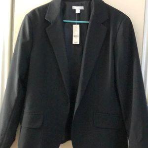 NY and Co Size 16 black blazer - never worn.